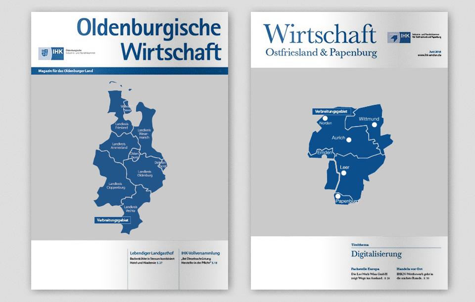 Oldenburgische Wirtschaft und Wirtschaft Ostfriesland Papenburg Cover