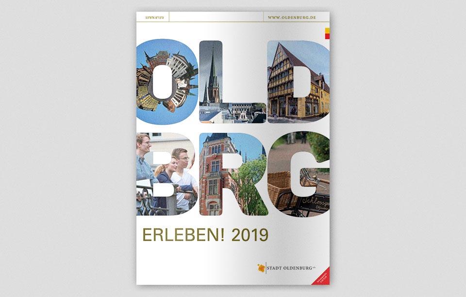 Oldenburg erleben 2019 Cover