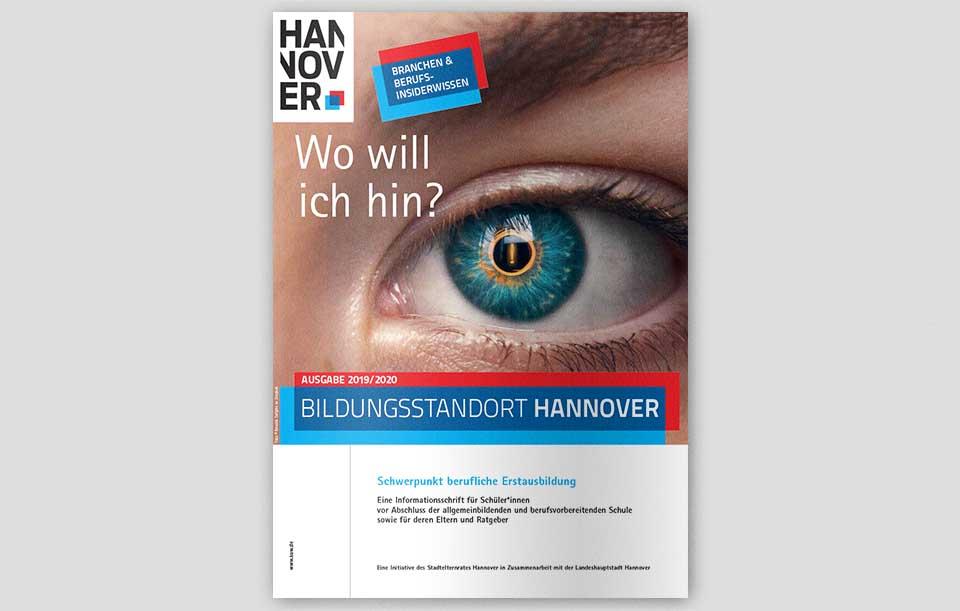 Bildungsstandort Hannover 2019-2020 Titel Mockup