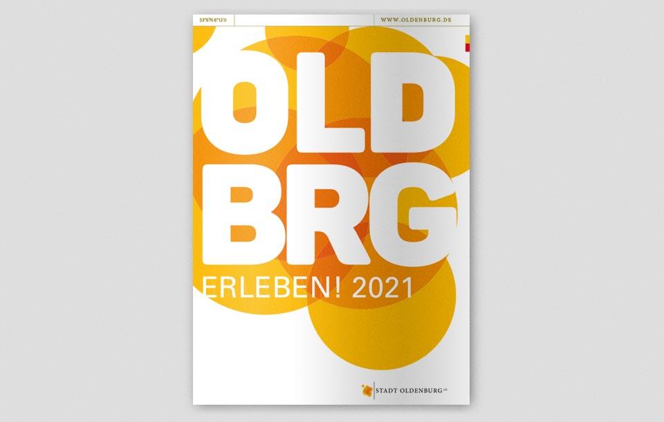Oldenburg erleben 2021 Titel